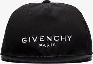 Givenchy Mens Black And White Logo Embroidered Baseball Cap