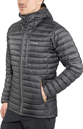 RAB Microlight Alpine Long Jacket Men grey Size L 2018 winter jacket