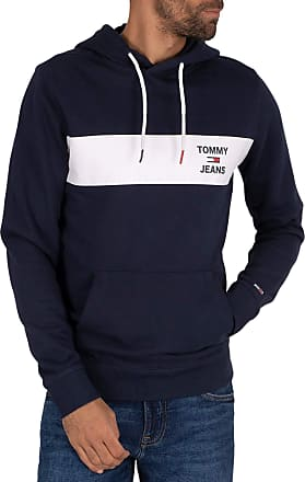 Tommy Jeans Tommy Hilfiger Jeans, Essential Graphic Hoodie, Blue, TMH_DM0DM08133C87 - XL