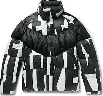 96b1325860b2 Nike Sportswear Quilted Printed Shell Down Jacket - Black