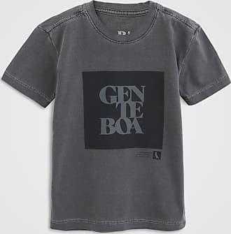 Reserva Mini Camiseta Reserva Mini Infantil Gente Boa Cinza
