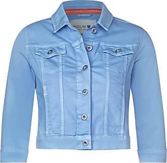 Cecil Denimjacke im Colour Style - soft blue