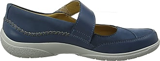 Hotter Womens Mystic Extra Wide Mary Janes, Blue (Blue River 105), 7.5 UK/41.5 EU 40.5