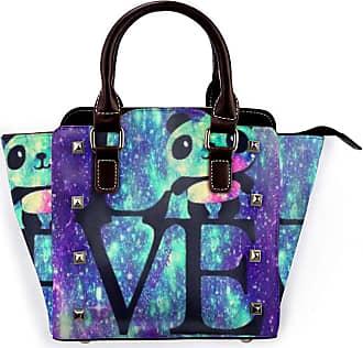 Browncin Star Panda Lovely Universe Detachable Fashion Trend Ladies Handbag Shoulder Bag Messenger Bags