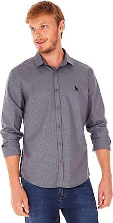 SideWalk Camisa Mini Xadrez - Cinza Chumbo - Tamanho P