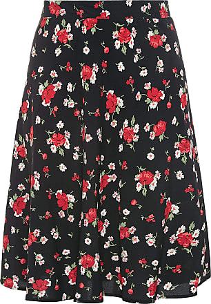 Yours Clothing Clothing Womens Plus Size Midi Skirt Size 26-28 Black