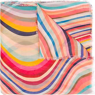 Paul Smith Schal mit Swirl-Print - Rosa