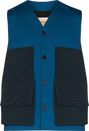 Nicholas Daley Colete com bolso - Azul