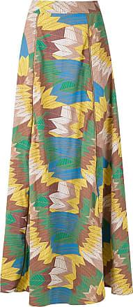 Amir Slama high-waisted maxi skirt - Multicolour