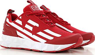 db72e17f804a89 Emporio Armani Sneaker Uomo, Rosso, polyester, 2017, 41.5 42 42.5 43 43