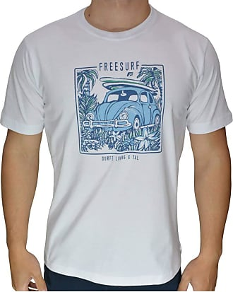 Free Surf Camiseta Free Surf Fusca Juvenil