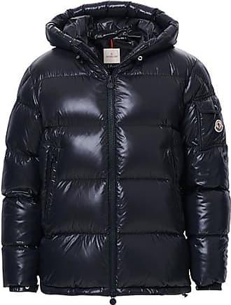 Moncler Ecrins Gloss Down Jacket Navy