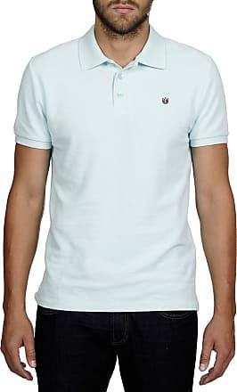 RDHOPE-Men Fit Casual Loose Stripe Short Sleeve T-Shirt Pique Polo Shirt
