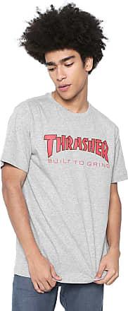 Independent Camiseta Independent X Thrasher Thr Btg Cinza