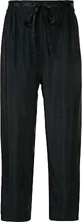 Karen Walker Beck straight-leg trousers - Black