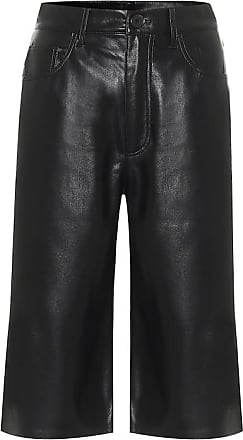 Nanushka Nampeyo faux leather Bermuda shorts