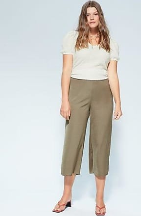 Violeta by Mango Fluid culotte trouser