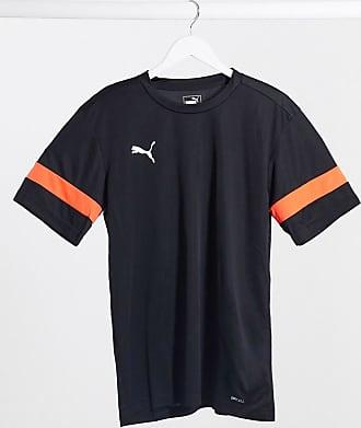 Puma Football - T-shirt per allenamento nera e rossa-Nero