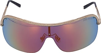 Jimmy Choo London Sonnenbrille Shield MARISI 010HD Metall gold