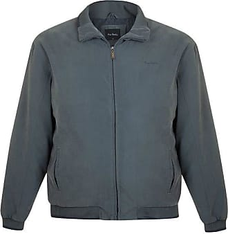 Pierre Cardin Jaqueta Plus Size Suede com Manta Verde Escuro 6