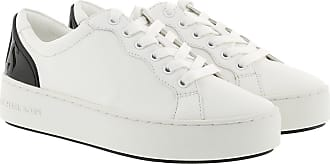 Michael Kors Khloe Lace Up Active Sneakers Optic White
