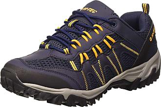 Hi-Tec Mens Jaguar Low Rise Hiking Boots, Blue (Navy/Yellow 31), 12 UK (46 EU)