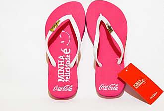Coca Cola Ware Chinelo Coca-Cola Minha Felicidade É Personalizado Cc2021