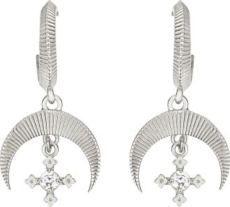Zoe & Morgan Sacha Ohrringe Natural White Zircon Silver - one size | sterling silver | silver | White - Silver/Silver