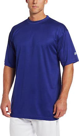 Russell Athletic Mens Big-Tall Solid Short-Sleeve Dri-Power Crew-Neck T-Shirt