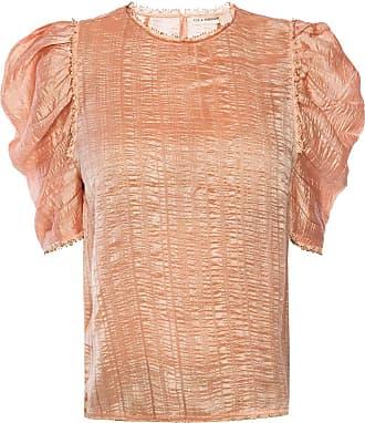 Ulla Johnson Arleigh Puff Sleeve Top Womens Pink