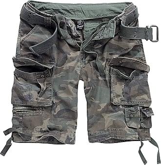 Brandit Savage Vintage Gladiator Shorts - Including Matching Belt - Woodland - XL