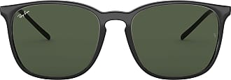 Ray-Ban Mens 0RB4387 Sunglasses, Black, 55