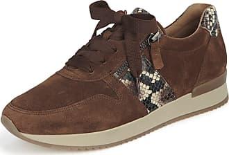 Gabor Effekt Leder Sneaker, Gr. 39