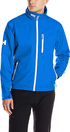 Helly Hansen Mens Crew Waterproof Windproof Breathable Rain Coat Jacket, 563 Olympian Blue, XX-Large