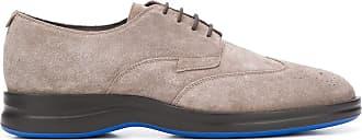 Harrys of London Sapato Balance de camurça com cadarço - Cinza