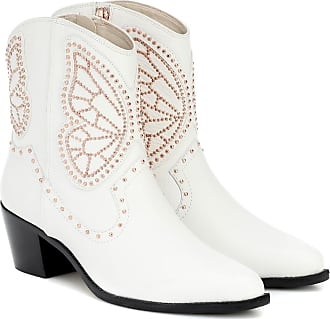 Sophia Webster Shelby leather ankle boots