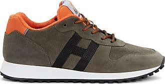 Hogan Sneakers H383, ORANGE,SCHWARZ,GRÜN, 10.5 - Schuhe