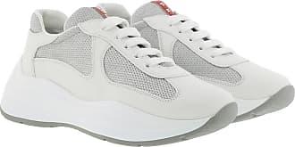 Prada Sneakers - Americas Cup XI Sneakers White/Silver - white - Sneakers for ladies