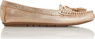 Dune London Dune Ladies Womens Geena Tassel Detail Moccasin Loafer Size UK 3 Rose Gold Flat Heel Moccasins