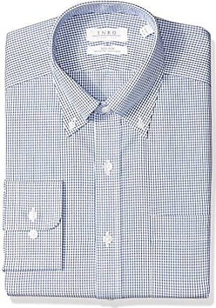 Enro Mens Classic Fit Odessa Check Dress Shirt
