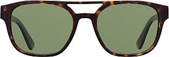 Prada Óculos de sol tartaruga - Verde
