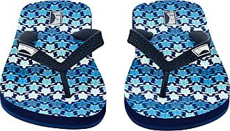 Vilebrequin Men Accessories - Men Flip Flop Herringbones Turtles - SHOES - COPP - Blue - 44/45 - Vilebrequin