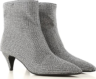 ed80e447578 Michael Kors Boots for Women, Booties On Sale, Silver, Glitter, 2017,