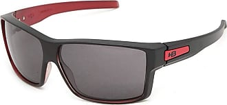 HB Óculos de Sol Hb Big Vert 9010980100/65 Preto Fosco com Vermelho