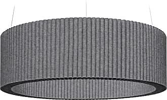 Hey-Sign Welle Deckenobjekt M Ø100cm - anthrazit/Filz in 3mm Stärke/höhenverstellbar/inkl. Aufhängevorrichtung