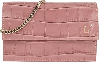 L'autre Chose Cross Body Bags - Printed Pouch Ancient Pink - rose - Cross Body Bags for ladies