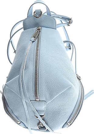 Rebecca Minkoff Backpack for Women On Sale, Powder Blue, Leather, 2017, one size