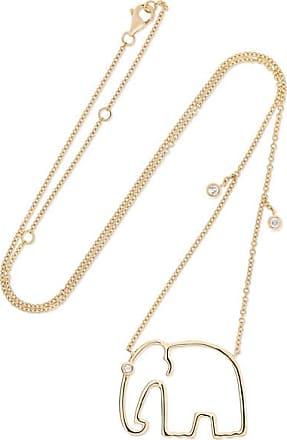 Yvonne Léon 18-karat Gold Diamond Necklace