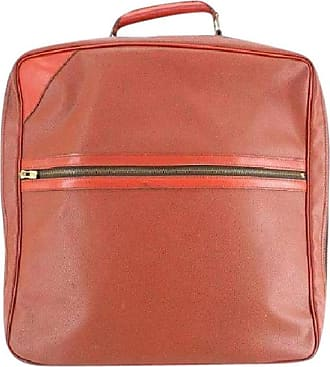 Louis Vuitton (1987 Cup ) Challenge Boston 221140 Red Leather  Weekend travel Bag b7a5279055548