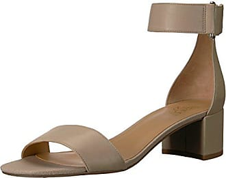 Franco Sarto Womens Rosalina Heeled Sandal, Bisque, 6 M US